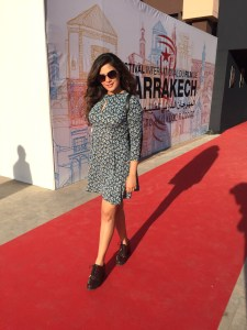 Richa Chadha in Juicy Couture at the Marrakech film Festival