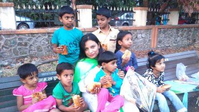 Kesariee Celebrating Kites with Children1