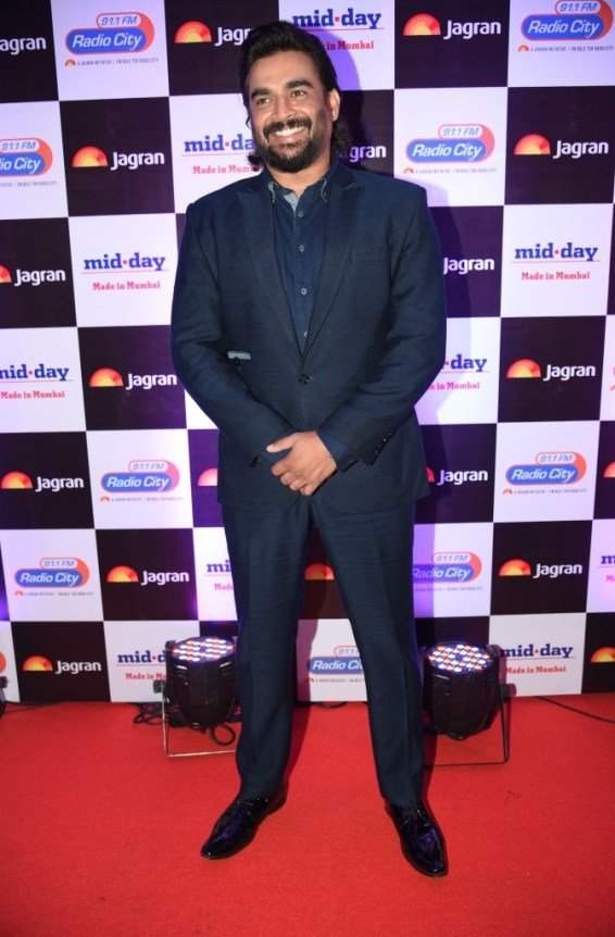 R Madhavan at party hosted by Jagran publication
