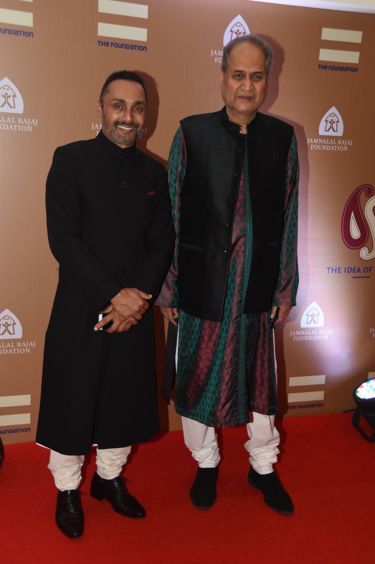 Rahul Bose and Rahul Bajaj
