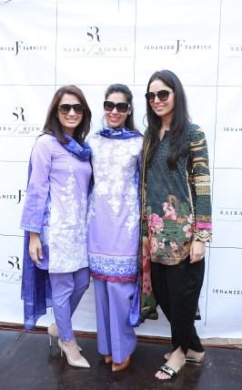 Shakira Usman, Momina Sibtain, Saira Faisal