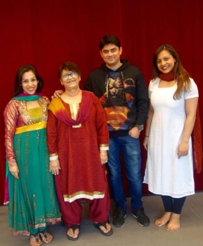 Ayesha Saroj Khan Manish Zenobia