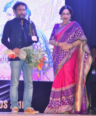 Director Shoojit Sircar and Kirron Kher