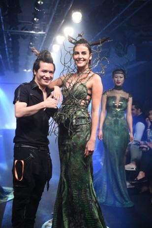 Mandana Karimi with Asa Kazingmei