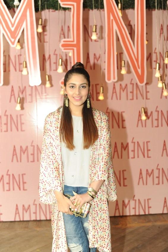 Wazish wearing Amène