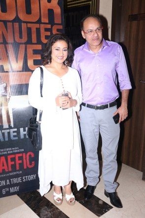 Divya Dutta along with Ram Mirchandani from Endemol Shine India