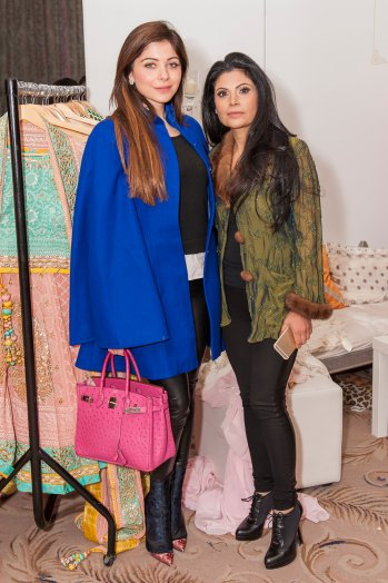 Kanika Kapoor, Shivani Ahluwalia at BollyGoods Edition 2, London (photographer credit - Shahid Malik)