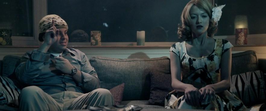 Midnight Delight film still-Michael Laguerre (L), Alexandra H (R)