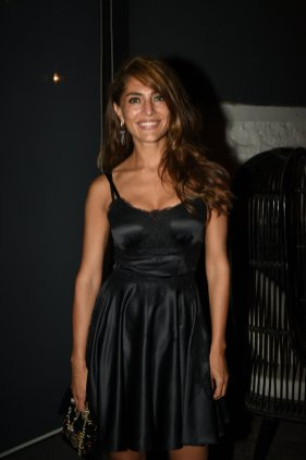 Caterina Murino at the Fever party (1)