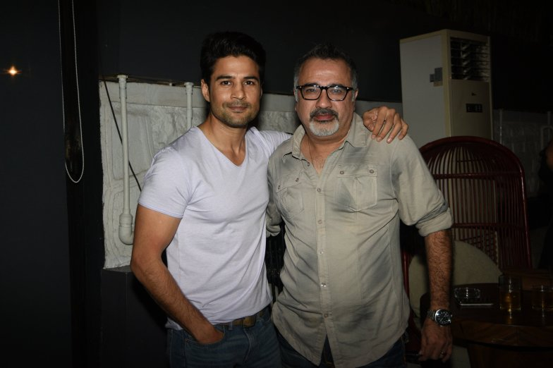 Rajeev Khandelwal and Ajay Chabbria at the Fever party