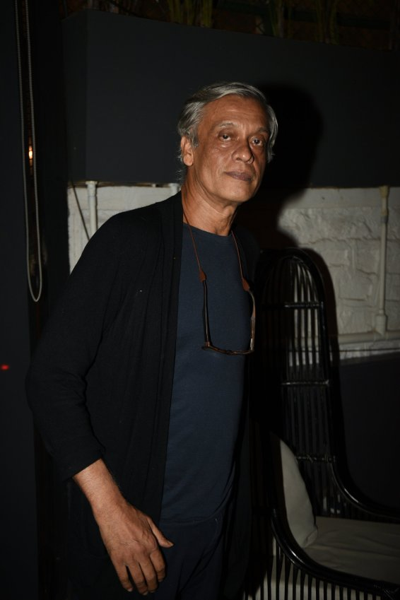 Sudhir Mishra at the Fever party