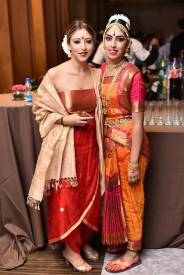 Designer Anushka Tugnait and Dancer Radhika Tandon