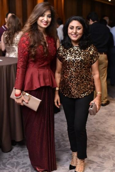 Designer Preeti Ghai with Rachna Sandhu