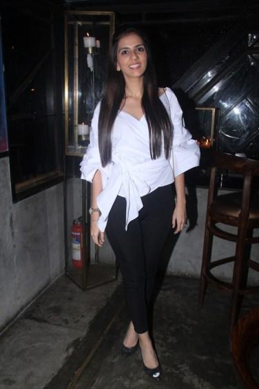 Nishka Lulla at the Fashion Wednesday at MasalaBar with Sonaakshi Raaj
