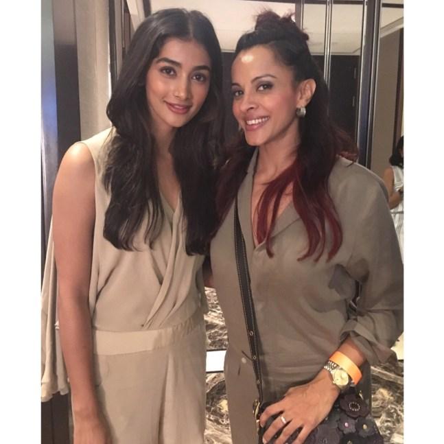 Pooja Hegde and Manasi Scott