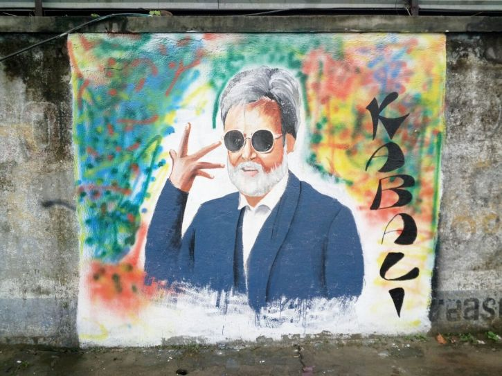 Rajinikanth graffiti 2