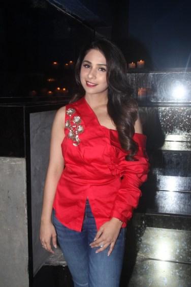 Sonaakshi Raaj at the Fashion Wednesday at MasalaBar with Sonaakshi Raaj