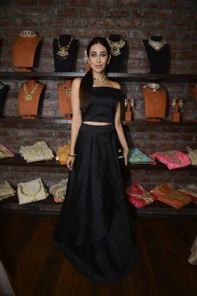 03 Karishma Kapoor @ Amy Billimoria House of Designer & Zevadhi Jewels Festive Collection launch soiree
