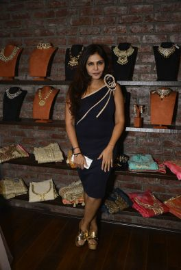 08 Nisha Jamwal @ Amy Billimoria House of Designer & Zevadhi Jewels Festive Collection launch soiree