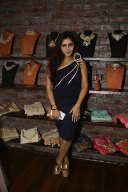 08 Nisha Jamwal @ Amy Billimoria House of Designer & Zevadhi Jewels Festive Collection launch soiree