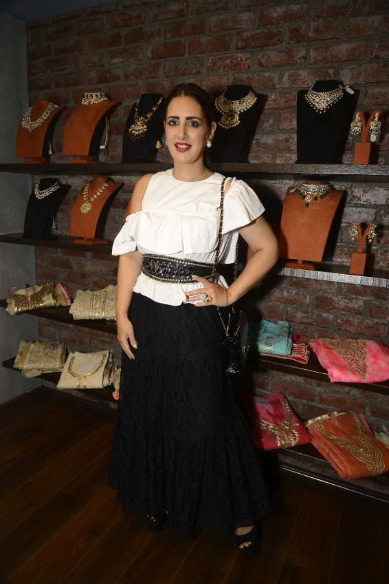 09 Pria Kataaria Puri @ Amy Billimoria House of Designer & Zevadhi Jewels Festive Collection launch soiree