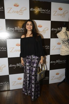 11 Yasmin Morani @ Amy Billimoria House of Designer & Zevadhi Jewels Festive Collection launch soiree