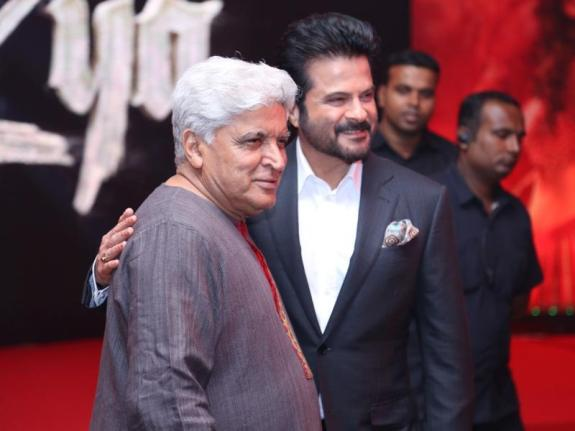 javed-akthar-and-anil-kapoor-at-mirzya-music-launch