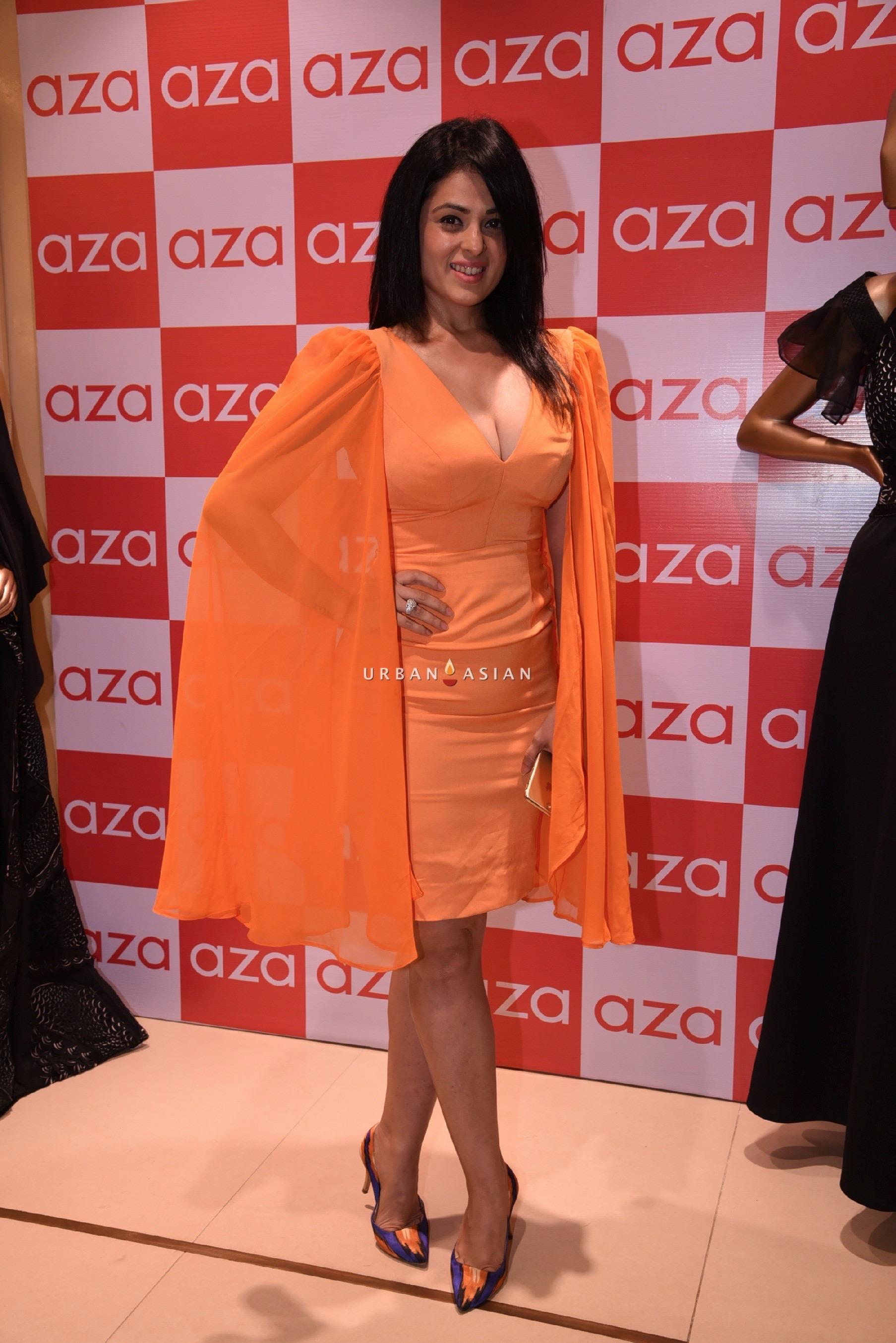 anjana-sukhani-eshaa-amiins-new-party-wear-launch-at-aza