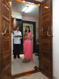 Digangana Suryavanshi Grih Pravesh