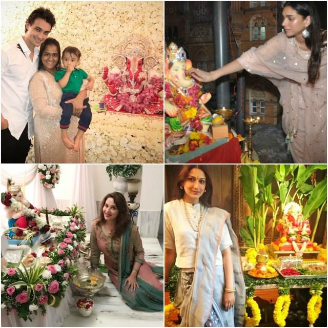 Bollywood celebs celebrate Ganesh Chaturthi
