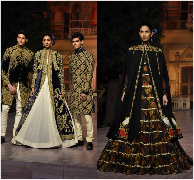 Rohit Bal showcases his couture collection