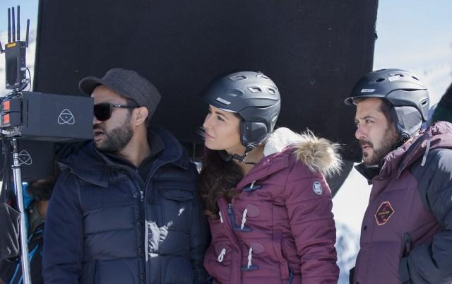 Salman Khan and team Tiger Zinda Hai  shooting in -22 degrees