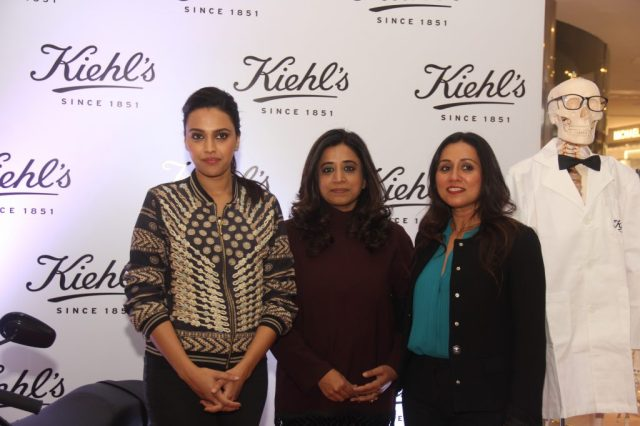 Swara Bhaskar, Ms. Shriti Malhotra, COO at Kiehl's India and Dr. Archana Nayyar, Founder at Autism Centre For Excellence