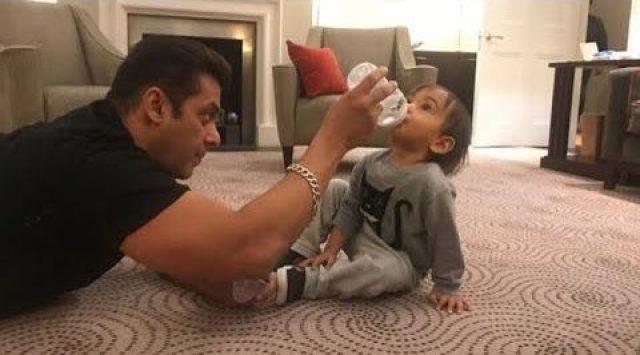 Video Alert: Katrina Kaif With Salman Khan's Nephew Ahil Will Make You Go Aww!