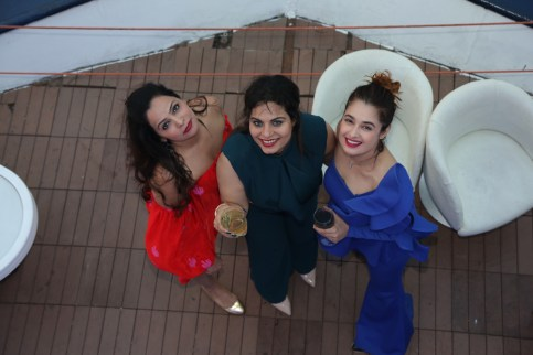 Dipti Kalwani, Teennaa Swayyam and Yuvika Choudhary