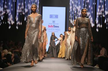 Excellent collection for Dream Diamonds Delhi Times Fashion Week by Ashfaque Ahmad , Neetu Singh