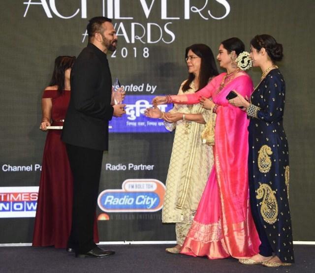 Rohit Shetty Received An Award