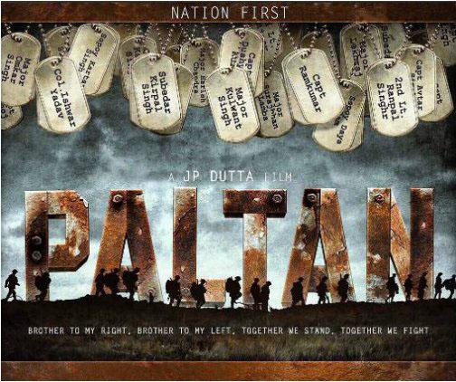 Paltan Movie Poster