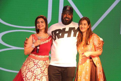 Rashmi Sharma and husband Pawan Kumar, Shilpa Shinde