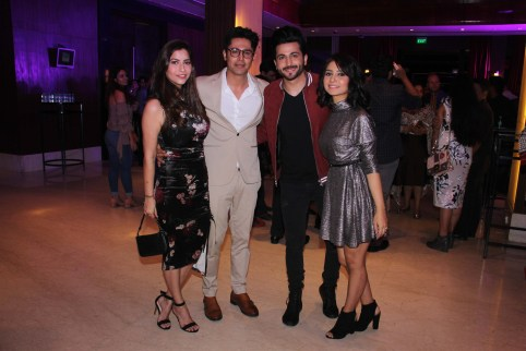 Sudeep Sahir and wife, Dheeraj Dhooper and Vinny Arora