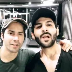 Varun Dhawan and Kartik Aaryan
