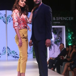 Ali Fazal and Esha Gupta