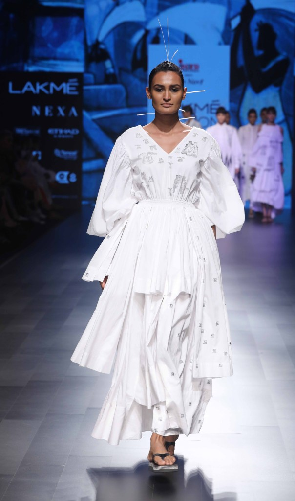 Mohammed Mazhar at Lakme Fashion Week Summer Resort 2018