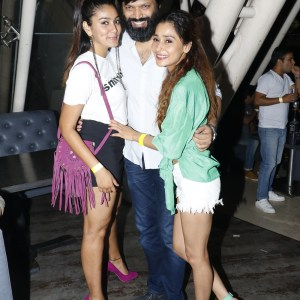 Sana Khan, Anand Mishra & Sara Khan
