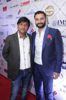 Santosh Gupta and captain Balraj Syal