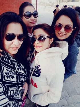 Tinaa Datta with her friends in Amritsar (6)