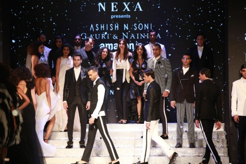 Gauri and Nanika Amazon Fashion Week 2018 (9)