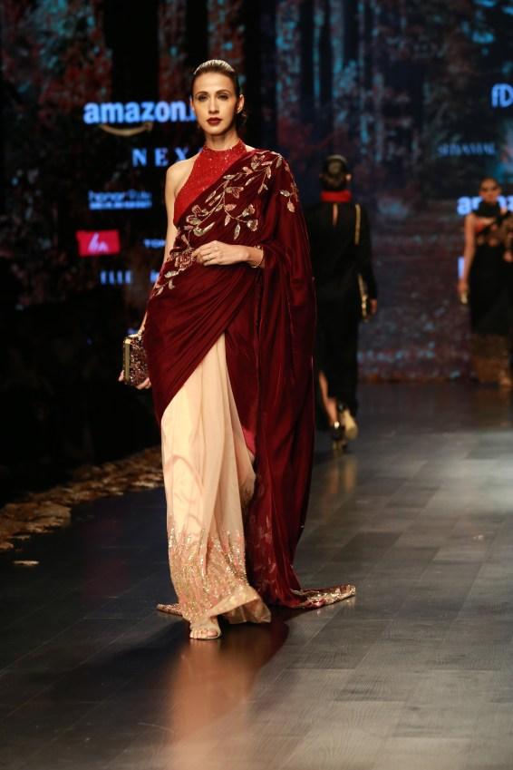 Shyamal and Bhumika Amazaon Fashion week 2018 (13)