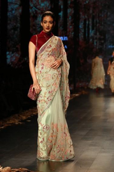 Shyamal and Bhumika Amazaon Fashion week 2018 (6)