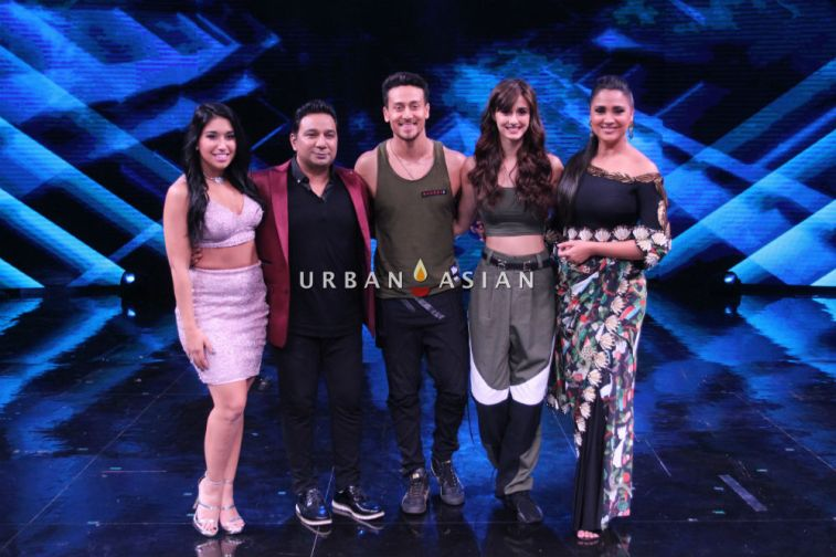Tiger Shroff and Disha Patani on sets of High Fever 11
